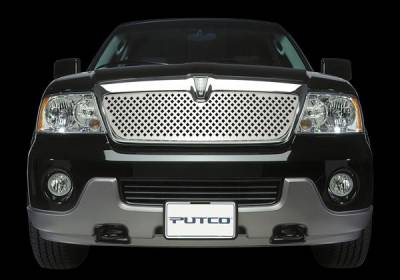 Putco - Lincoln Navigator Putco Designer FX Bumper Insert Diamond Pattern Grille - 65702