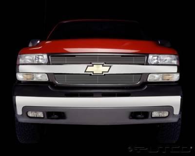 Putco - Chevrolet Silverado Putco Shadow Billet Grille - 71107