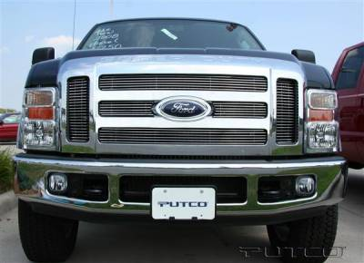 Putco - Ford F350 Superduty Putco Shadow Billet Grille - 71161