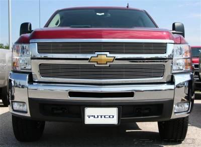 Putco - Chevrolet Silverado Putco Shadow Billet Grille - 71163
