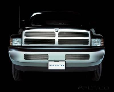 Putco - Dodge Ram Putco Shadow Billet Bumper Insert Grille - 72103