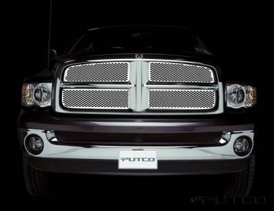 Putco - Dodge Ram Putco Racer Stainless Steel Grille - 82132