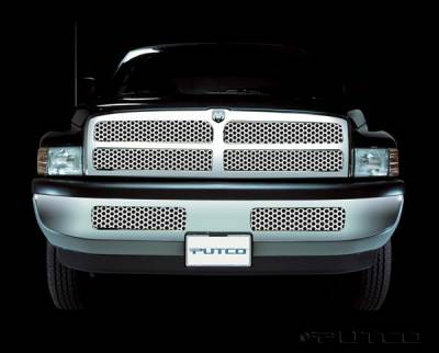 Putco - Dodge Ram Putco Punch Stainless Steel Grille - 84103