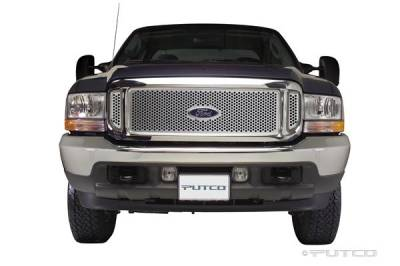 Putco - Ford F250 Superduty Putco Punch Stainless Steel Grille - 84106
