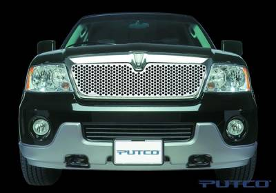 Putco - Lincoln Navigator Putco Punch Stainless Steel Grille - 84117