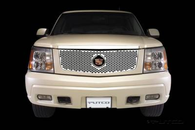 Putco - Cadillac Escalade Putco Punch Stainless Steel Grille - 84119