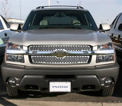 Putco - Chevrolet Avalanche Putco Punch Stainless Steel Grille - 84126