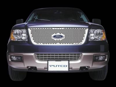 Putco - Ford Explorer Putco Punch Stainless Steel Grille - 84129