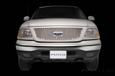 Putco - Ford F150 Putco Punch Stainless Steel Grille - 84130