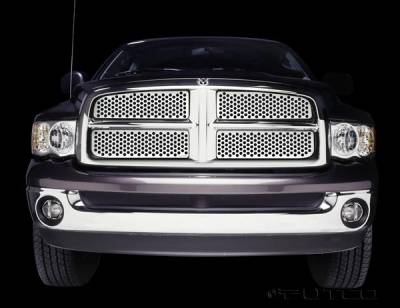 Putco - Dodge Ram Putco Punch Stainless Steel Grille - 84132