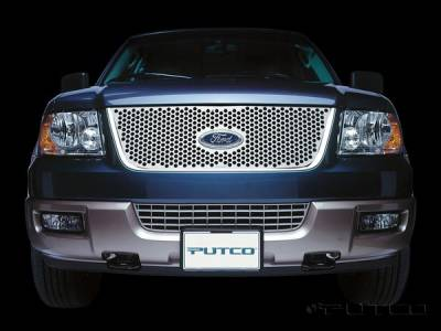 Putco - Ford Expedition Putco Punch Stainless Steel Grille - 84135