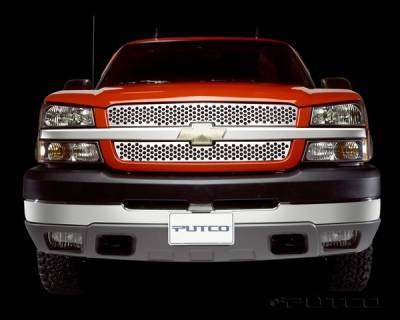 Putco - Chevrolet Avalanche Putco Punch Stainless Steel Grille - 84137