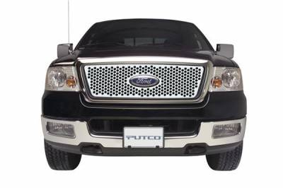 Putco - Ford F150 Putco Punch Stainless Steel Grille - 84142