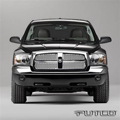 Putco - Dodge Dakota Putco Punch Stainless Steel Grille - 84144