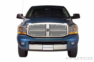Putco - Dodge Ram Putco Punch Stainless Steel Grille - 84156