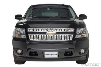 Putco - Chevrolet Tahoe Putco Punch Stainless Steel Grille - 84158