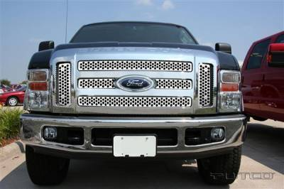 Putco - Ford F250 Superduty Putco Punch Stainless Steel Grille - 84197