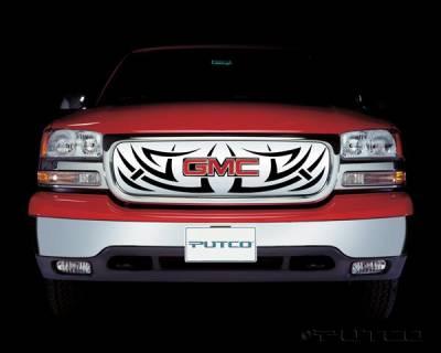 Putco - GMC Yukon Putco Tribe Stainless Steel Grille - 85102