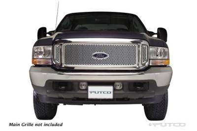 Putco - Ford F250 Superduty Putco Punch Stainless Steel Grille - 85105