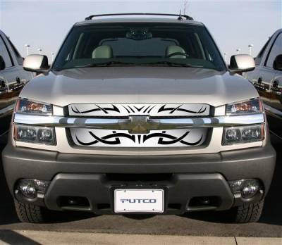 Putco - Chevrolet Avalanche Putco Tribe Stainless Steel Grille - 85111