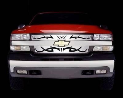 Putco - Chevrolet Silverado Putco Tribe Stainless Steel Grille - 85157
