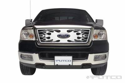 Putco - Ford F150 Putco Flaming Inferno Stainless Steel Grille - 89142