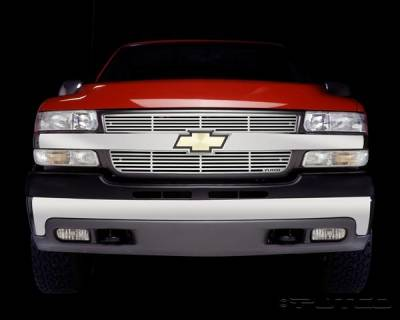 Putco - Chevrolet Silverado Putco Liquid Grille - 91107