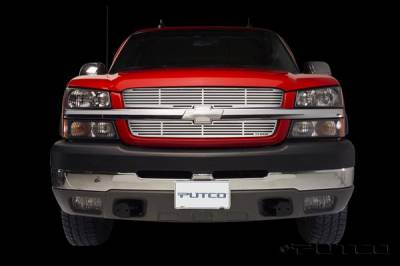 Putco - Chevrolet Silverado Putco Liquid Grille - 91137