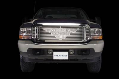 Putco - Ford F150 Putco Liquid Grille Insert with Wings Logo - 94104