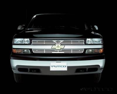 Putco - Chevrolet Tahoe Putco Liquid Grille Insert with Wings Logo - 94108
