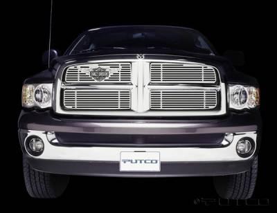 Putco - Dodge Ram Putco Liquid Grille Insert with Wings Logo - 94132