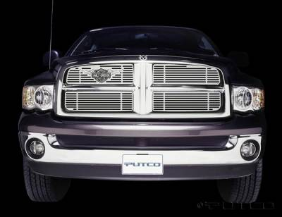 Putco - Dodge Ram Putco Liquid Grille Insert with Wings Logo - 94132