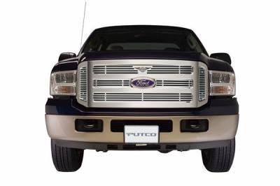 Putco - Ford F250 Superduty Putco Liquid Grille Insert with Wings Logo - 94155