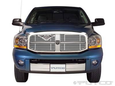Putco - Dodge Ram Putco Liquid Grille Insert with Wings Logo - 94156