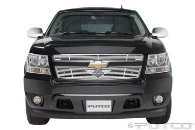 Putco - Chevrolet Avalanche Putco Liquid Grille Insert with Wings Logo - 94158