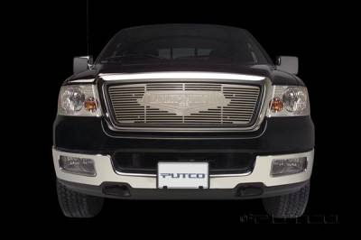Putco - Ford F150 Putco Liquid Grille Insert with Classic Logo - 94242