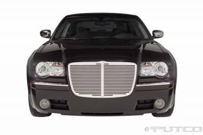 Putco - Chrysler 300 Putco Liquid 3D Grille - Horizontal Billet - 96161