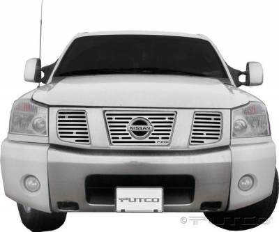 Putco - Nissan Titan Putco Liquid Boss Grille - 302127