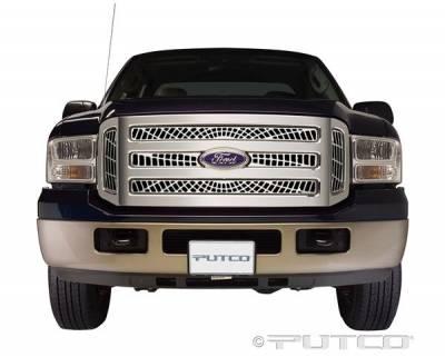 Putco - Ford F250 Superduty Putco Liquid Spider Web Grille - 303155