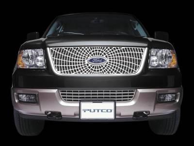 Putco - Ford F150 Putco Liquid Spider Web Grille - 303230