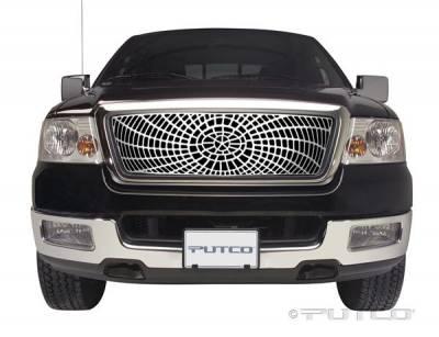 Putco - Ford F150 Putco Liquid Spider Web Grille - 303242