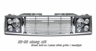 OptionRacing - Chrome Grille