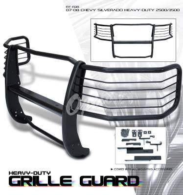 OptionRacing - Chevrolet Silverado Option Racing Grille Guard - 27-15139