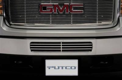 Putco - GMC Sierra Putco Radiator Grille Inserts - 280516R