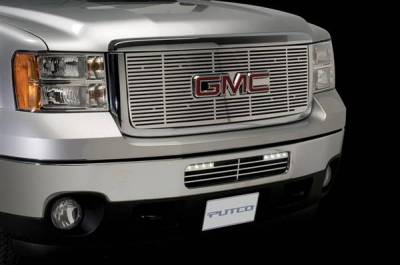Putco - GMC Sierra Putco Radiator Grille Inserts - 280516RL