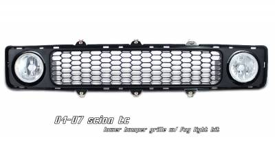 OptionRacing - Scion tC Option Racing Lower Bumper Grille - 28-41158