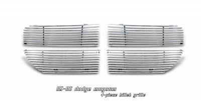 OptionRacing - Dodge Magnum Option Racing Billet Grille - 63-17105