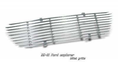 OptionRacing - Ford Explorer Option Racing Billet Grille - 63-18107
