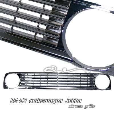OptionRacing - Volkswagen Jetta Option Racing Sport Grille - 64-45135