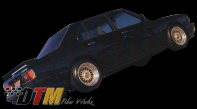DTM Fiberwerkz - BMW 5 Series DTM Fiberwerkz ACS Euro Style Rear Bumper - E28-ACS